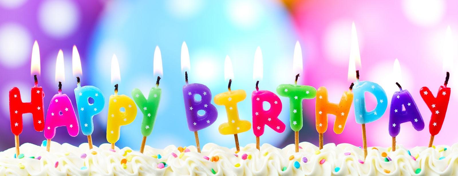 Поздравления с днем рождения на английском языке текст